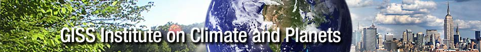 GISS Institute on Climate and Planets