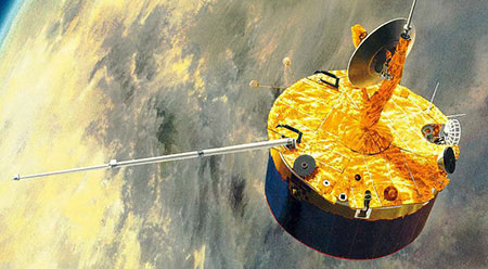 Graphic of Pioneer Venus