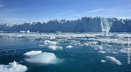 Image of polar ice