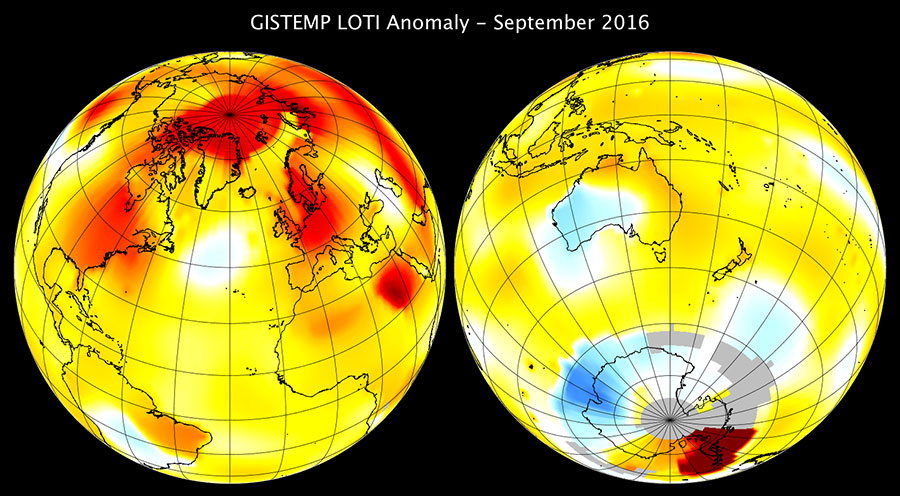 Map of GISTEMP Sep 2016 anomaly