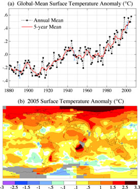 NASA GISS: NASA News & Feature Releases: 2005 Was Warmest ...
