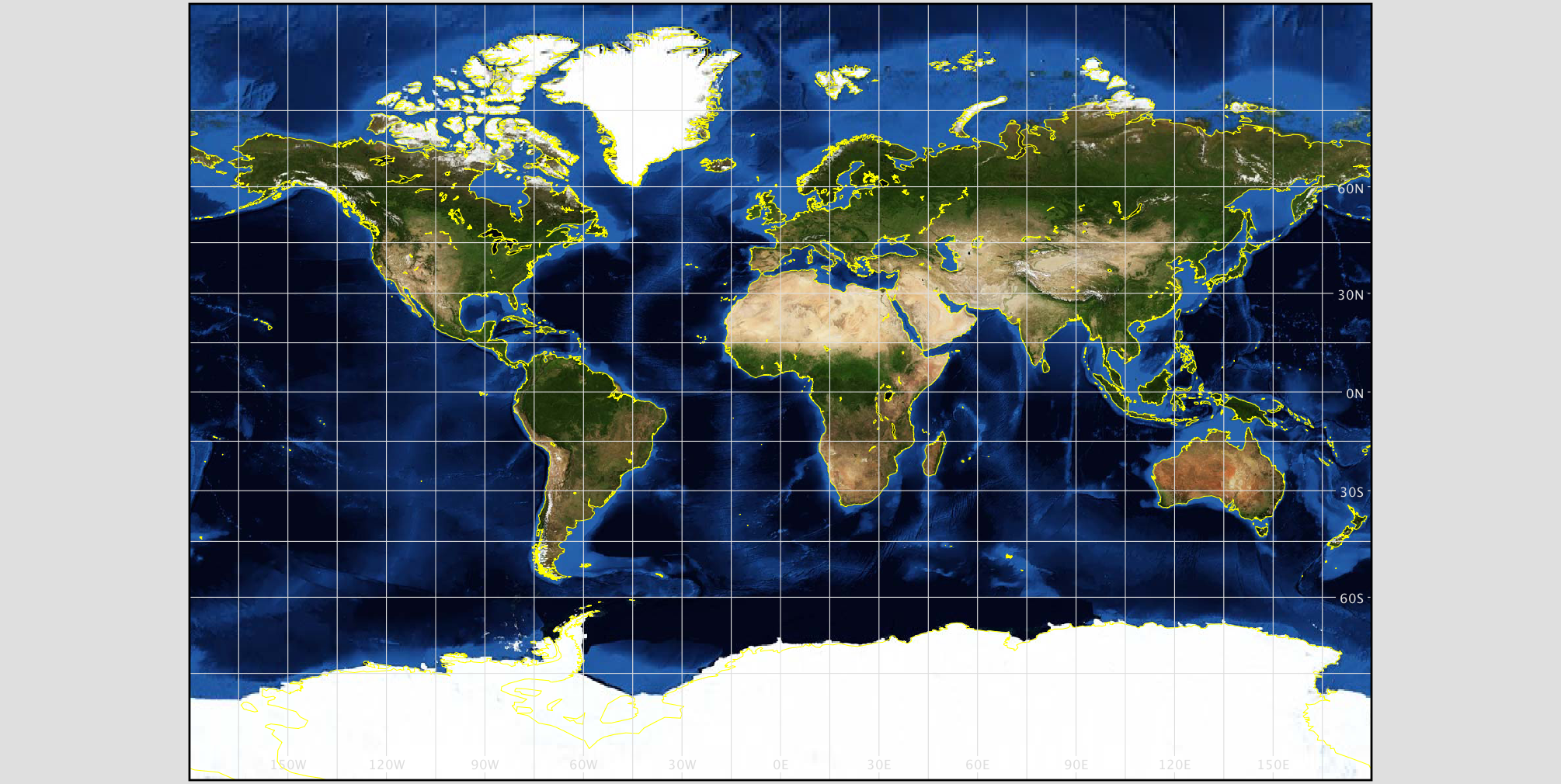 NASA GISS: G.Projector: User\'s Guide: Projection List