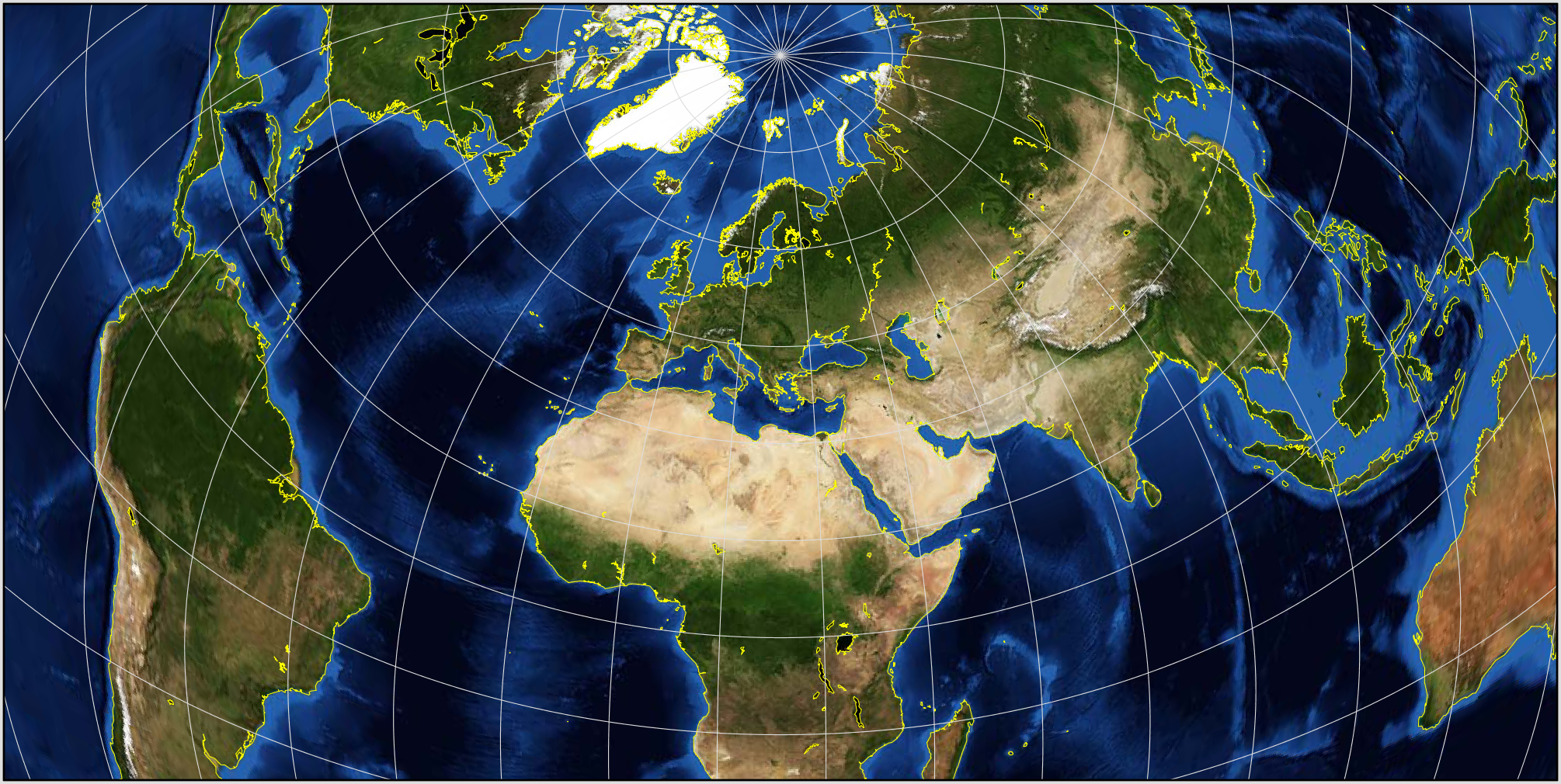 NASA GISS: G.Projector: User\'s Guide: List of Map Projections